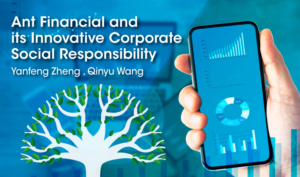 Ant Financial and Its Innovative Corporate Social Responsibility